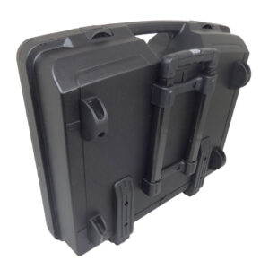 Plastic Case with Handle and Wheels