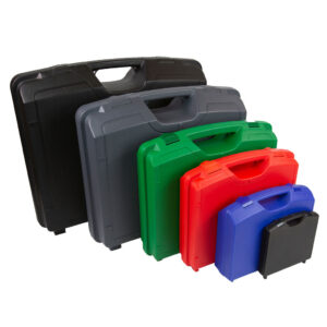 X40100 Plastic Carry Case, including 4 different colours and sizes