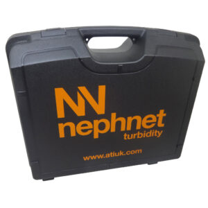 Plastic hard carry case, bespoke for Nephnet Turbitity