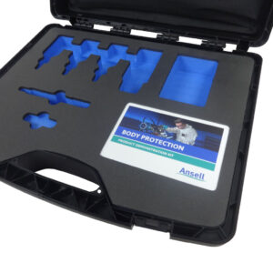 Plastic Carry Case for product demonstrations